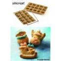 Silikónová forma Muffinky Vianoce