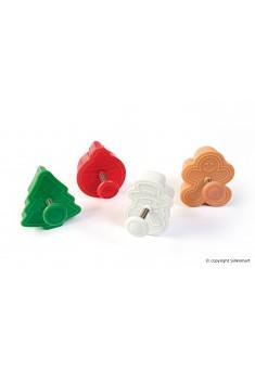 3D Vykrajovátka - Mini Sada Vianočná