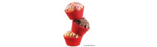 Silikónové formy na muffiny Silikomart