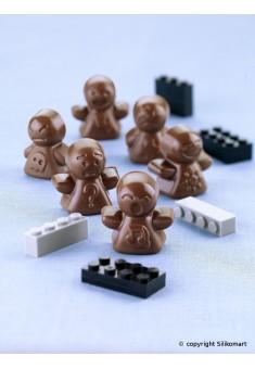 Silikónová forma na čokoládu POSTAVIČKY